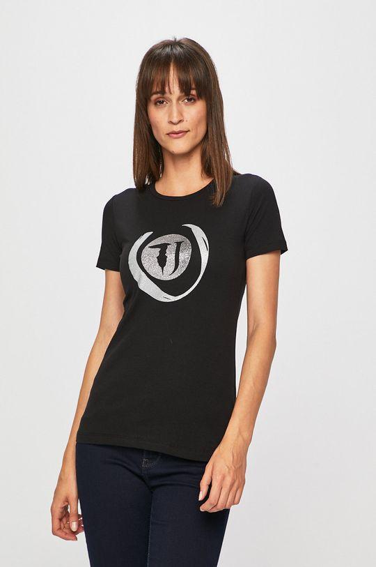černá Trussardi Jeans - Tričko Dámský