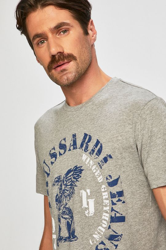 šedá Trussardi Jeans - Tričko Pánský