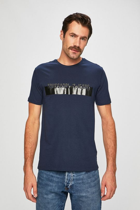 námořnická modř Trussardi Jeans - Tričko Pánský