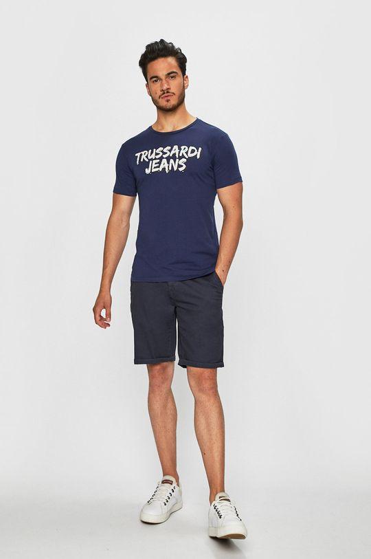 Trussardi Jeans - Tričko námořnická modř