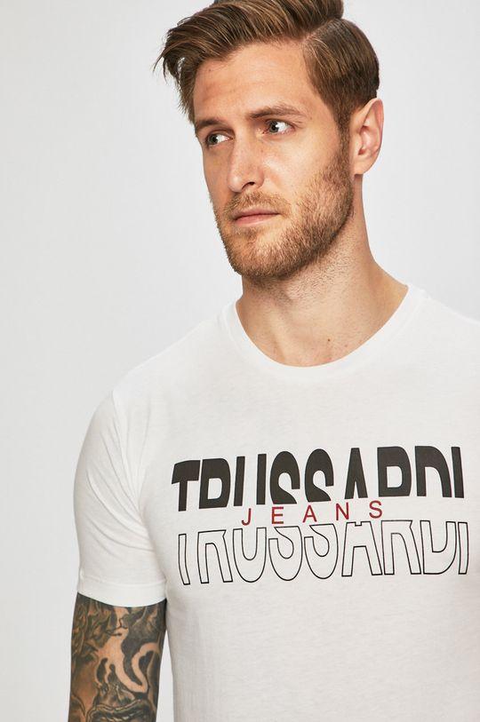 bílá Trussardi Jeans - Tričko