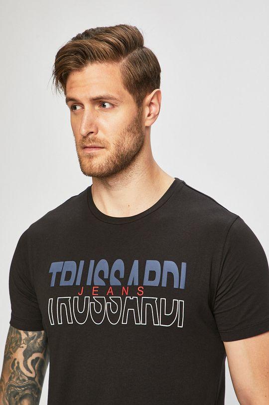 černá Trussardi Jeans - Tričko Pánský