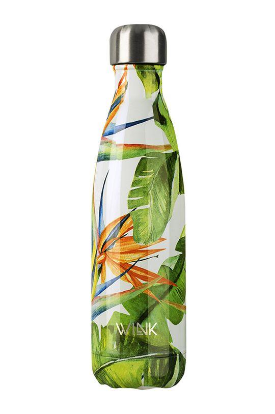 multicolor Wink Bottle - Butelka termiczna BIRD OF PARADISE Damski