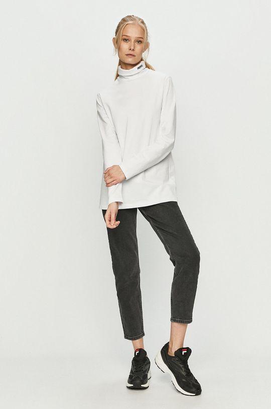 Prosto - Tričko s dlouhým rukávem bílá