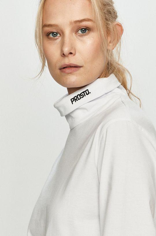 bílá Prosto - Tričko s dlouhým rukávem