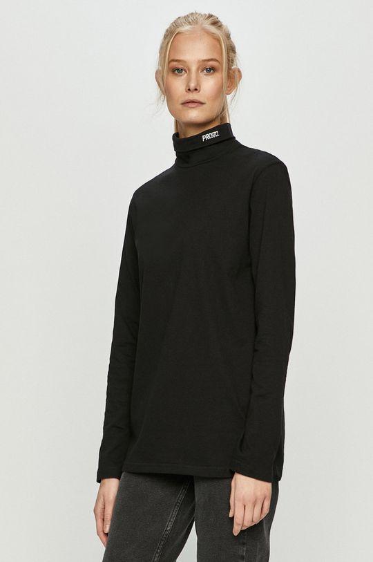 černá Prosto - Tričko s dlouhým rukávem Dámský