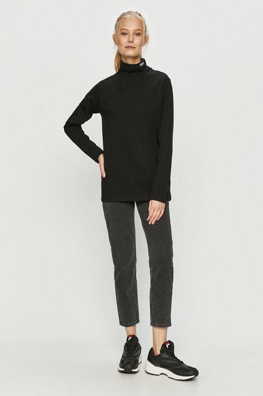 Prosto - Tričko s dlouhým rukávem černá