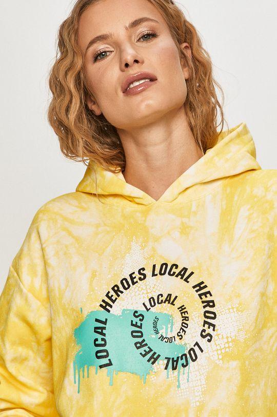 żółty Local Heroes - Bluza