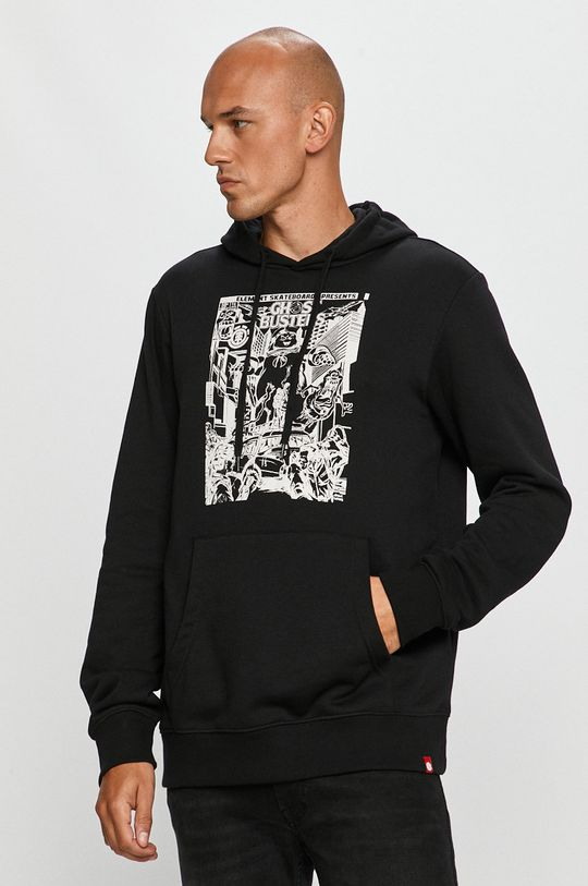 negru Element - Bluza De bărbați