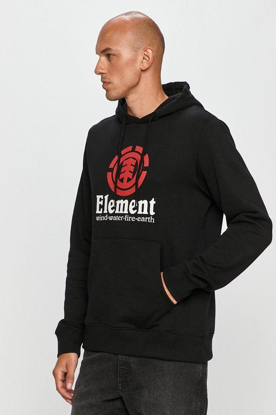 čierna Element - Mikina Pánsky