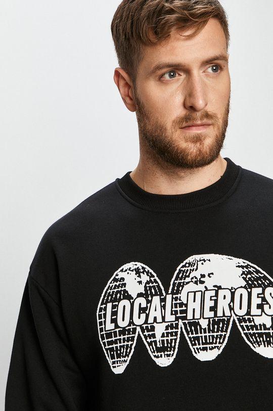 černá Local Heroes - Mikina