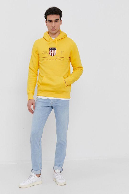 Gant - Mikina žltá