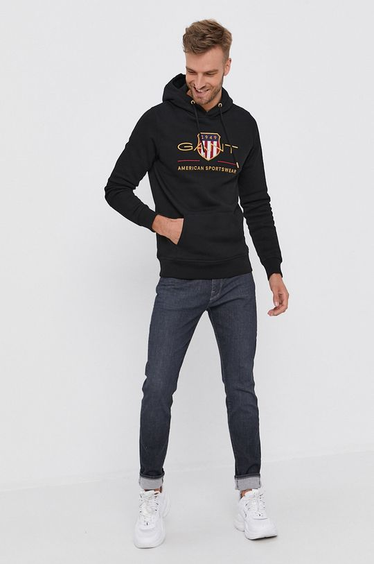 Gant - Bluza czarny