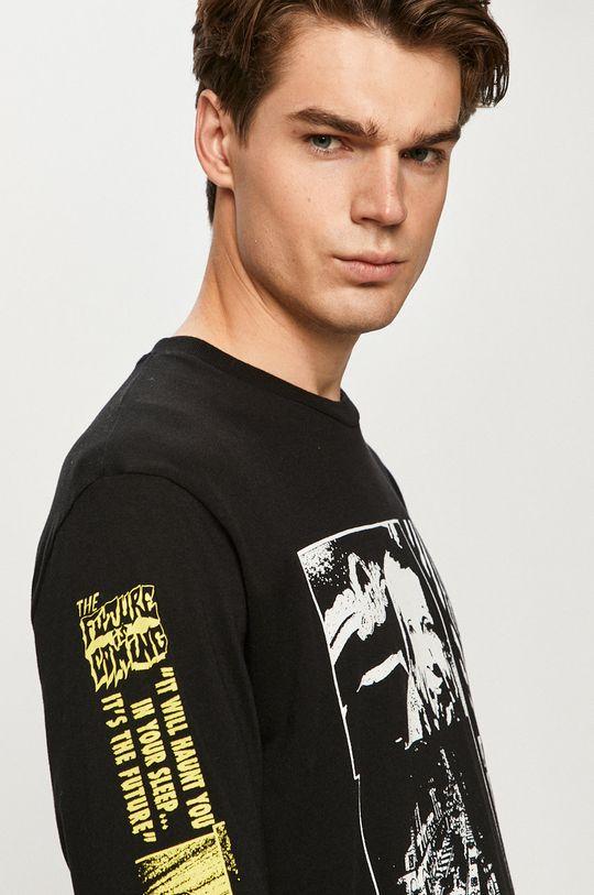 čierna Volcom - Tričko s dlhým rukávom