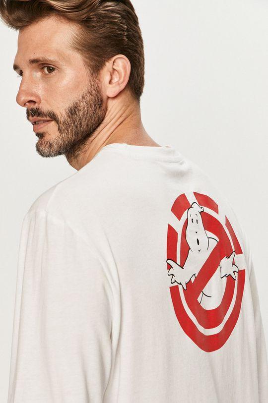 Element - Tričko s dlhým rukávom biela