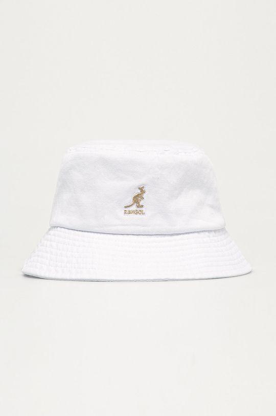 biały Kangol - Kapelusz Damski