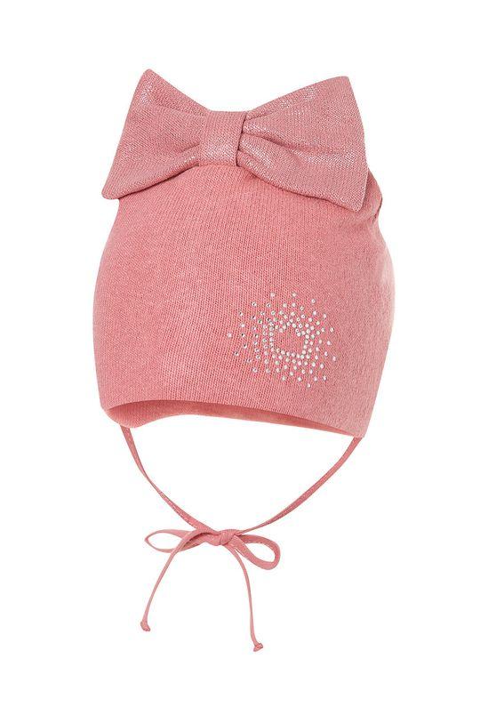 růžová Broel - Dětska čepice Dívčí