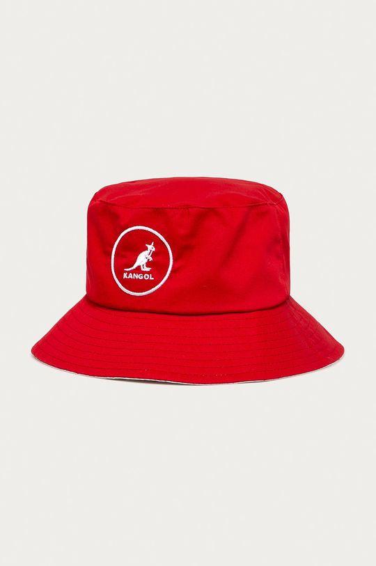 czerwony Kangol - Kapelusz Męski