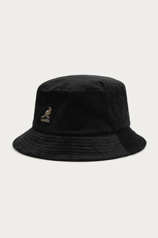 czarny Kangol - Kapelusz Męski