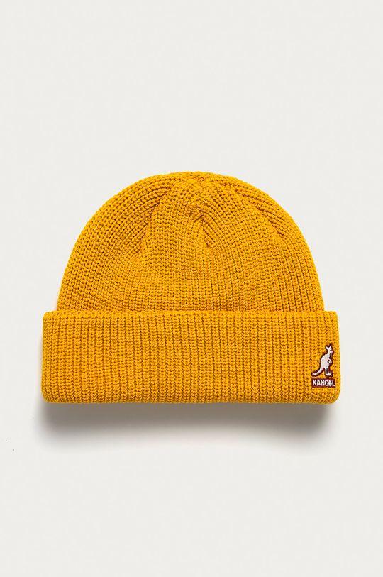 żółty Kangol - Czapka Unisex
