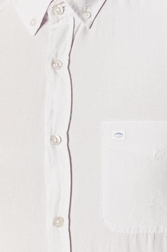 Cross Jeans - Koszula bawełniana biały