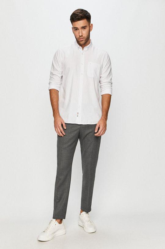 Cross Jeans - Koszula bawełniana 100 % Bawełna