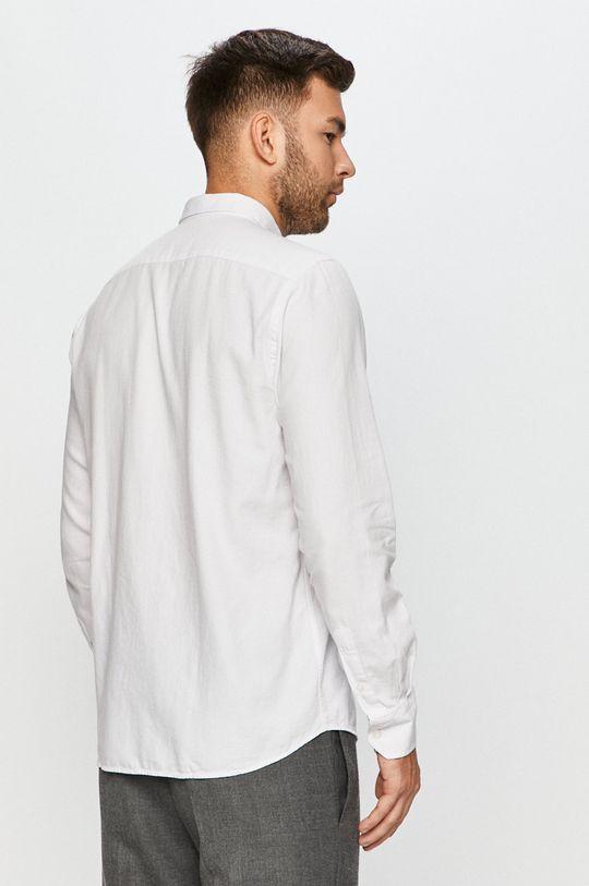 biały Cross Jeans - Koszula bawełniana