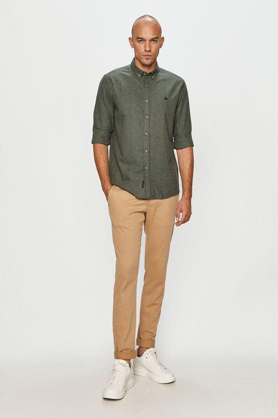 Cross Jeans - Koszula 60 % Bawełna, 40 % Poliester