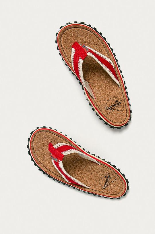 Gumbies - Žabky CORKER FLIP-FLOPS červená