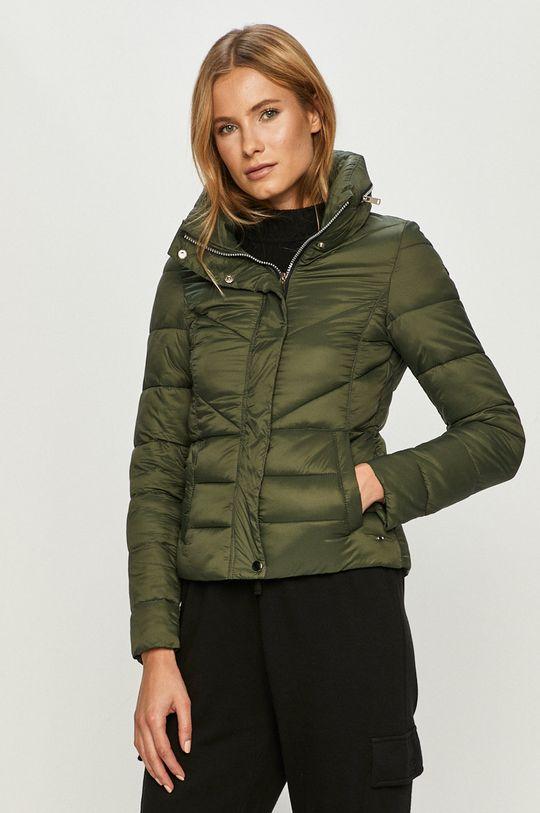 sötétzöld Cross Jeans - Rövid kabát Női