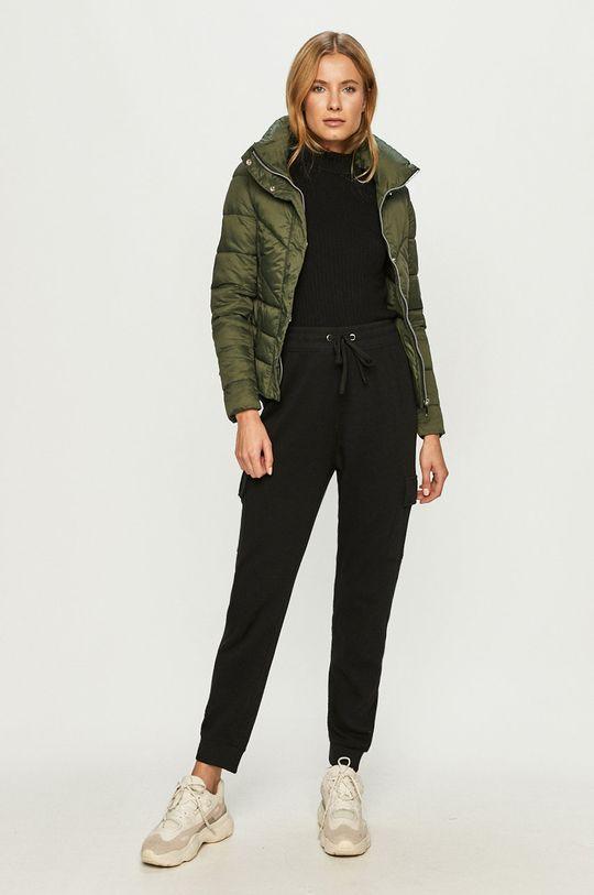 Cross Jeans - Rövid kabát sötétzöld