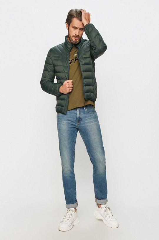Cross Jeans - Kurtka ciemny zielony