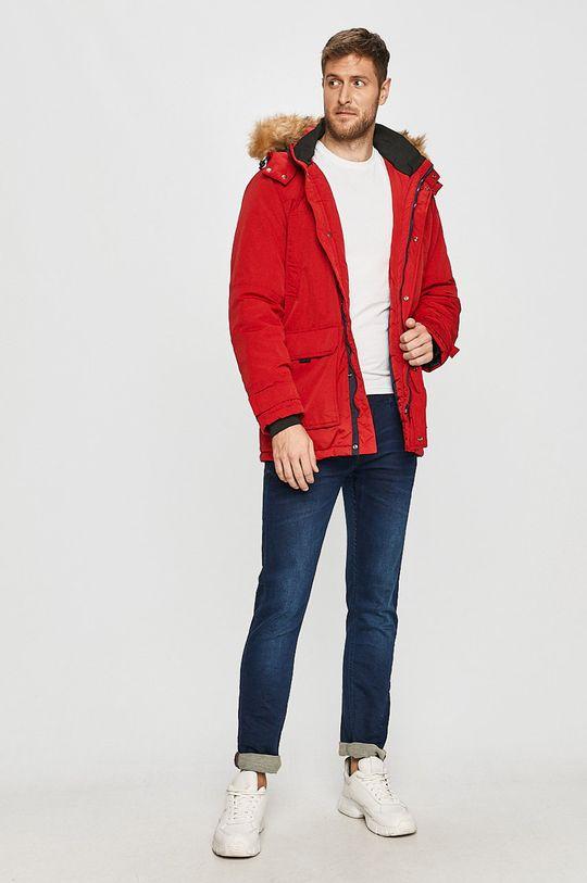 Cross Jeans - Kurtka czerwony