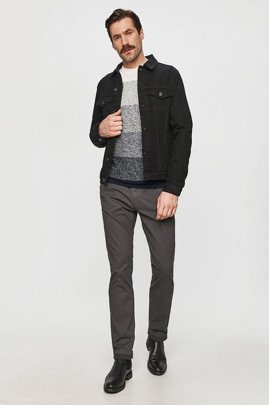 Cross Jeans - Džínová bunda černá