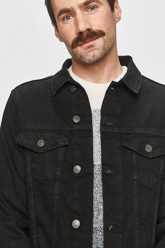 černá Cross Jeans - Džínová bunda