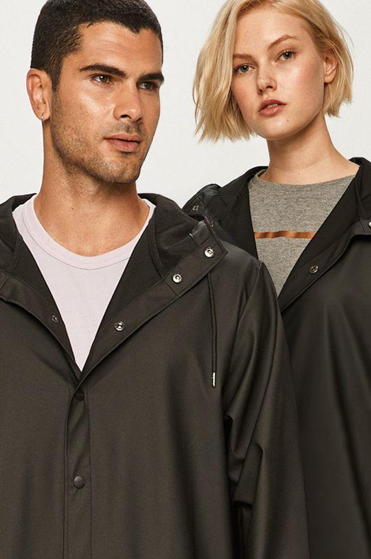 czarny Rains - Kurtka przeciwdeszczowa Long Jacket Unisex
