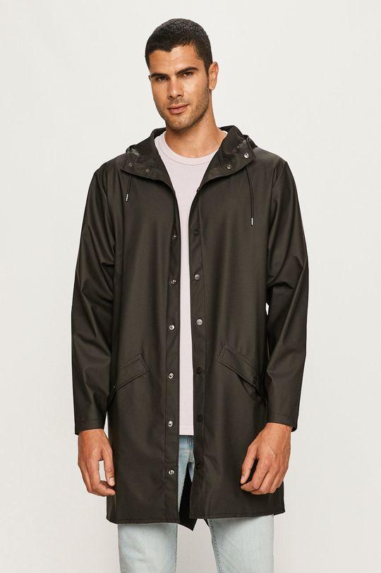 Rains - Kurtka przeciwdeszczowa Long Jacket czarny