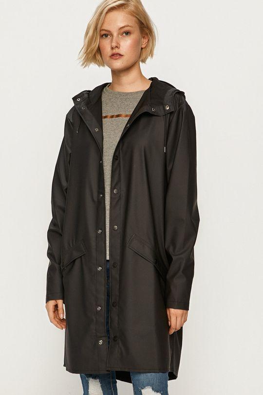 Rains - Kurtka przeciwdeszczowa Long Jacket 64 % Poliester, 36 % PU