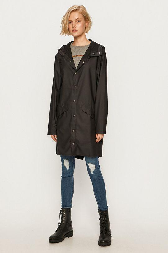 Rains - Kurtka przeciwdeszczowa Long Jacket Unisex