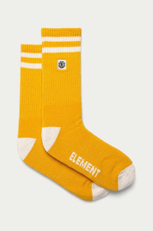 hořčicová Element - Ponožky Unisex