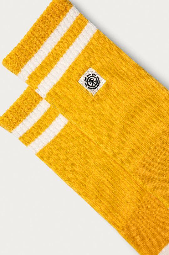 Element - Ponožky hořčicová
