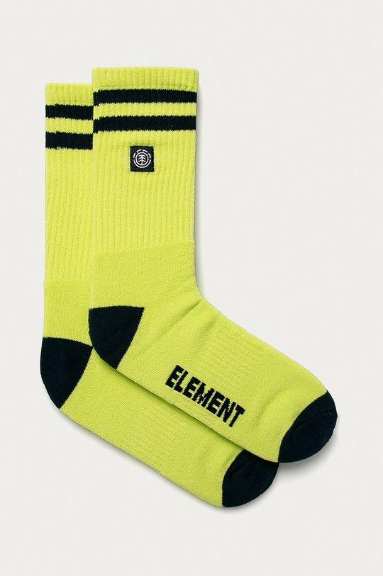 žlutě zelená Element - Ponožky Unisex