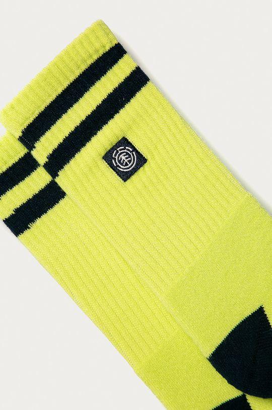 Element - Ponožky žlutě zelená