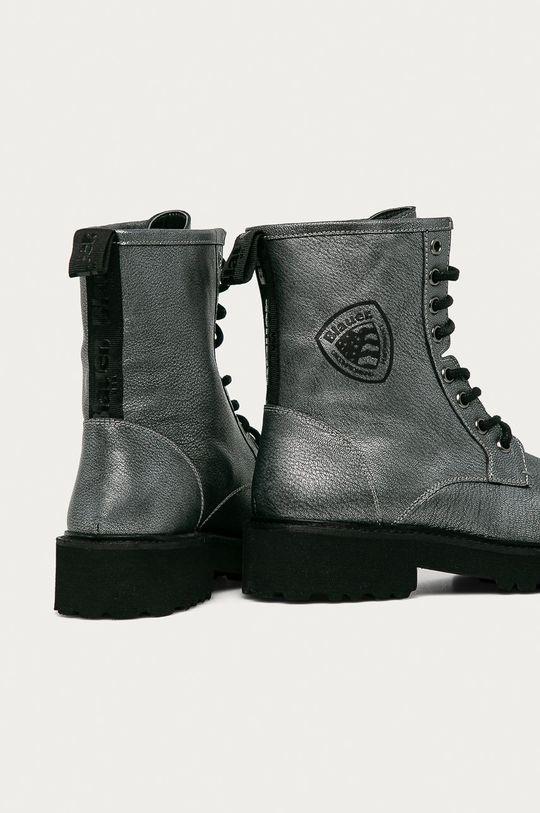 Blauer - Kožené kotníkové boty  Svršek: Přírodní kůže Vnitřek: Textilní materiál, Přírodní kůže Podrážka: Umělá hmota