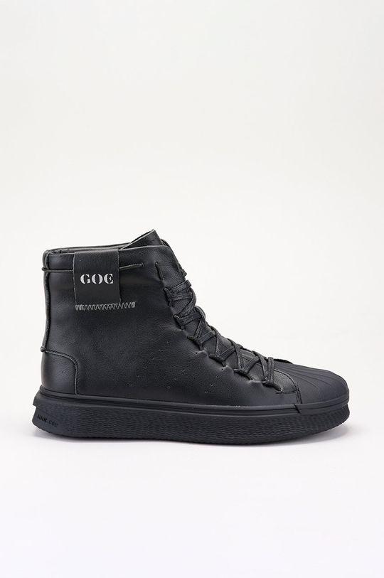 černá GOE - Kožené boty Dámský