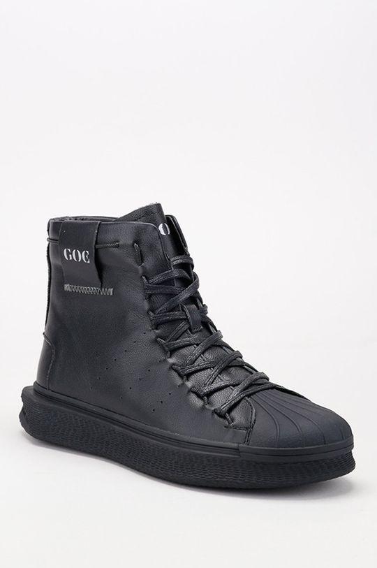 GOE - Kožené boty černá