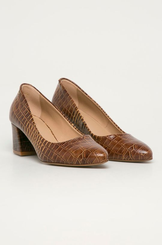 Wojas - Pantofi de piele cafea