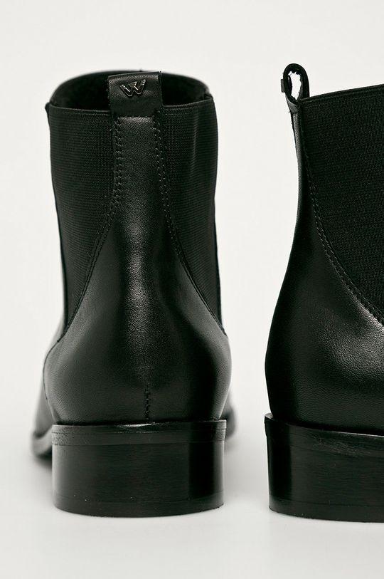 Wojas - Kožené kotníkové boty  Svršek: Přírodní kůže Vnitřek: Textilní materiál Podrážka: Umělá hmota