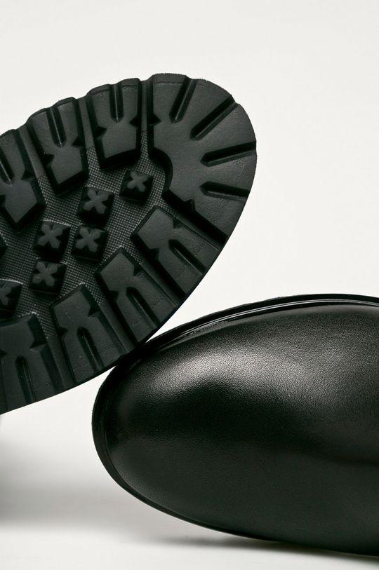 fekete Wojas - Bőr bokacsizma
