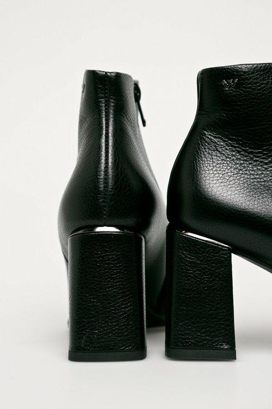 Wojas - Kožené členkové topánky  Zvršok: Prírodná koža Vnútro: Prírodná koža Podrážka: Syntetická látka